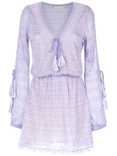 knitted long sleeves dress Cecilia Prado