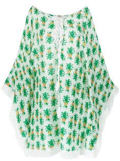 pineapple print dress Martha Medeiros