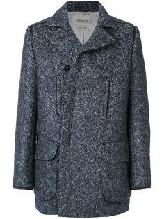 пальто на пуговицах и молнии Rochas