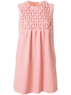 платье со стеганым нагрудником Red Valentino