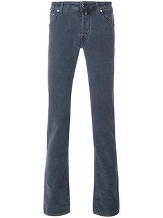 текстурированные джинсы Jacob Cohen