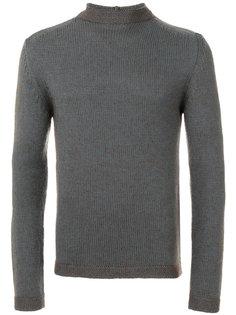 свитер в рубчик Giorgio Armani