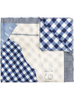 шарф с клетчатым узором Pierre-Louis Mascia