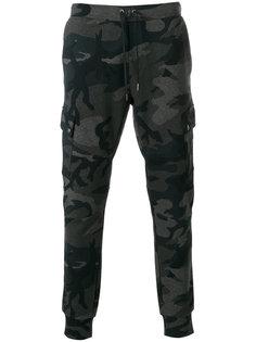 камуфляжные спортивные брюки Polo Ralph Lauren