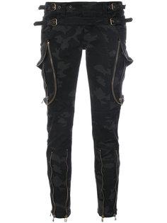 камуфляжные брюки скинни Faith Connexion