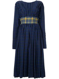 плиссированное платье миди Natasha Zinko