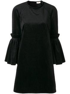 платье с расклешенными рукавами Sara Battaglia