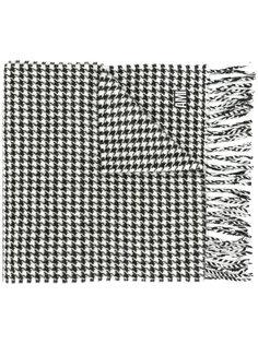 шарф в ломаную клетку Ami Alexandre Mattiussi
