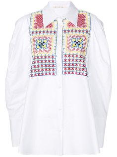 объемная рубашка с вышивкой Miahatami