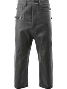 укороченные джинсы Rick Owens