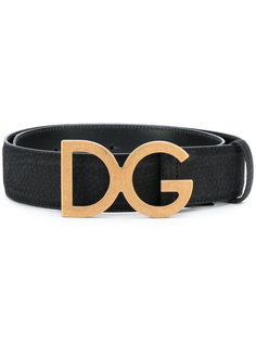 ремень с бляшкой-логотипом Dolce & Gabbana