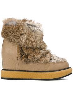 эскимосские ботинки с мехом енота  Paloma Barceló