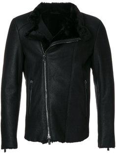 классическая байкерская куртка Giorgio Armani