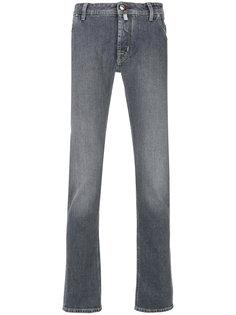 выбеленные джинсы прямого кроя Jacob Cohen