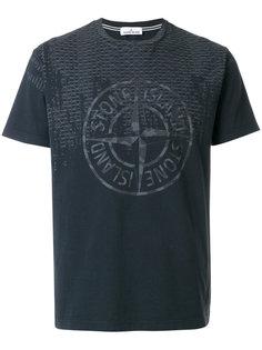 футболка с логотипом Stone Island
