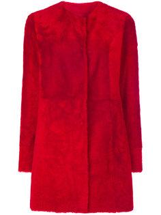 panelled coat Drome