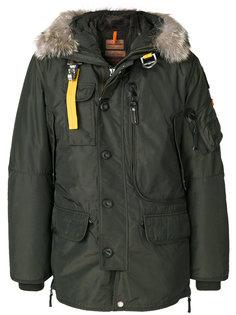 пальто с мехом на капюшоне Parajumpers