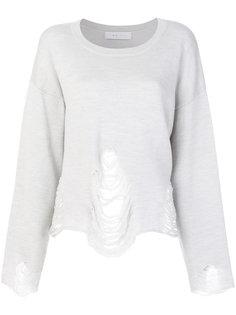 свитер с эффектом потертости Iro