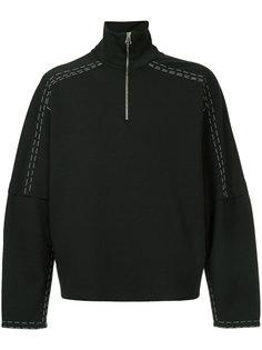куртка с открытой строчкой Oamc