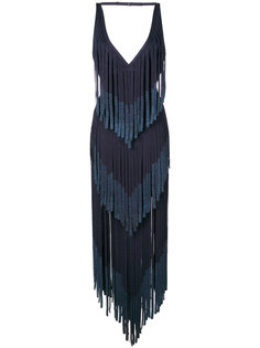 платье шифт с вышивкой Hervé Léger