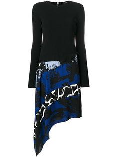асимметричное платье  Proenza Schouler