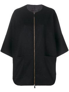 трикотажный свободный пиджак  Agnona