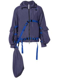 belt detail bomber jacket Cottweiler