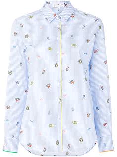 рубашка в полоску  Mira Mikati