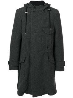 пальто с накладными карманами Giorgio Armani