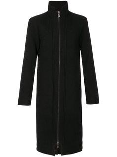 пальто с высокой горловиной на молнии D.Gnak