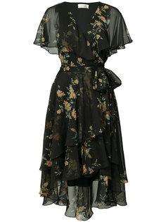 asymmetric wrap dress Zimmermann