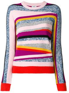 свитер в полоску  Kenzo