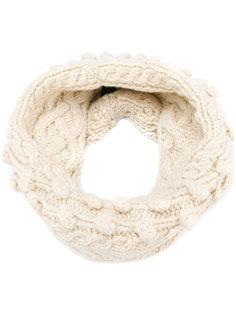 трикотажный шарф-снуд Pringle Of Scotland