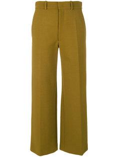 укороченные брюки строгого кроя Joseph