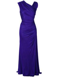 вечернее платье с драпировкой Emilio Pucci