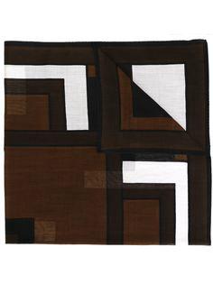 платок с геометрическим принтом Roberta  Di Camerino Vintage
