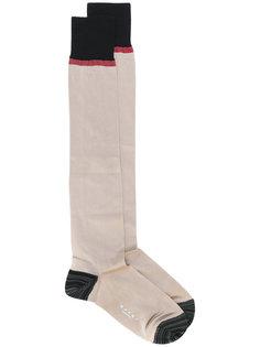 "носки дизайна ""колор-блок"" Calza Marni"