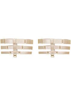 triple strap suspenders Bordelle