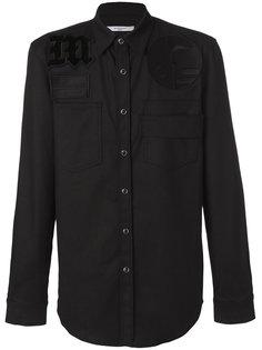 приталенная рубашка с вышивкой Givenchy