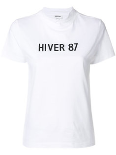 футболка с принтом  A.P.C.