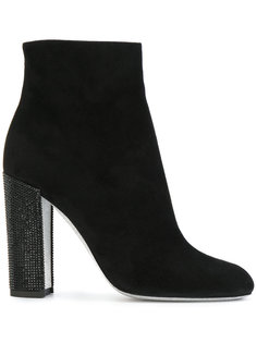 high heeled ankle booties René Caovilla