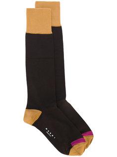 "носки дизайна ""колор-блок"" Marni"