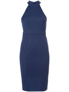 платье Alix с вырезом-петлей халтер Zac Zac Posen