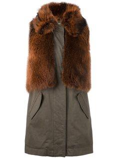пальто без рукавов Army Yves Salomon