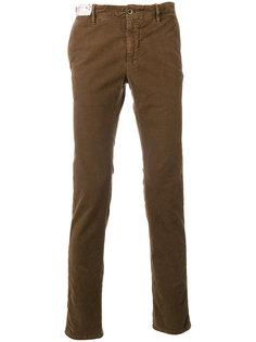 фактурные брюки Incotex