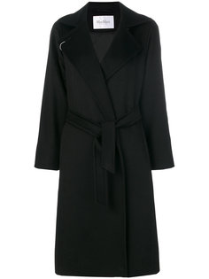 пальто с поясом  Max Mara