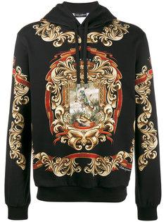 худи с принтом Dolce & Gabbana