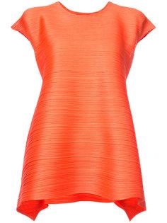 расклешенная блузка Issey Miyake