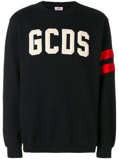 трикотажный джемпер с логотипом Gcds