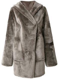 hooded coat Sylvie Schimmel